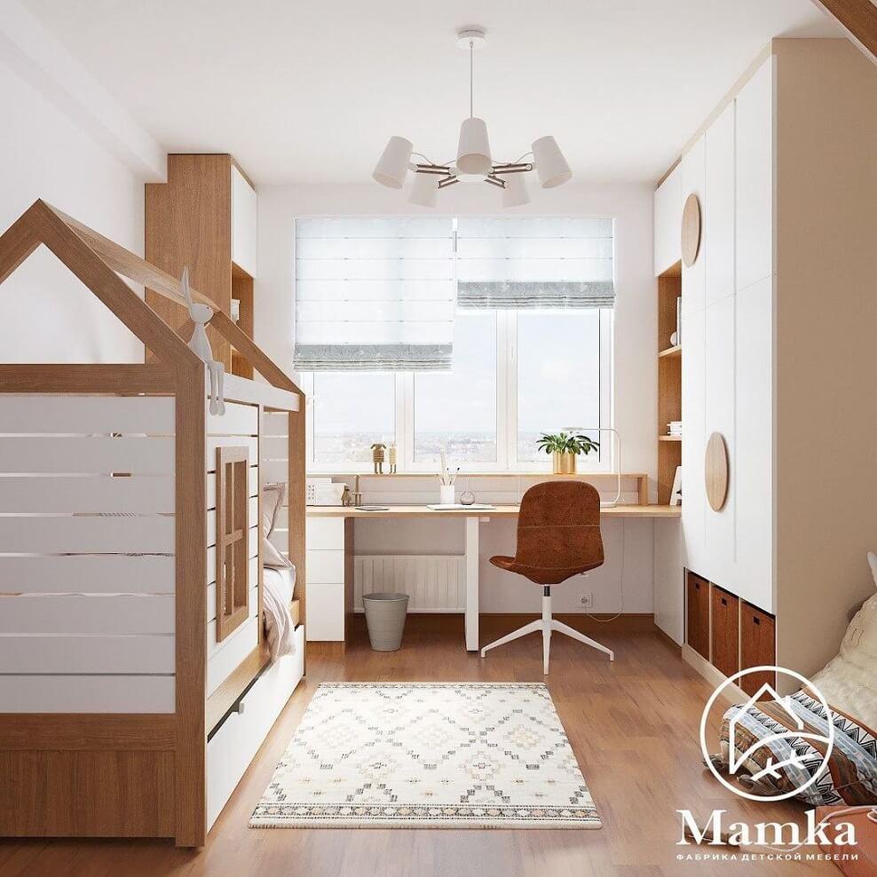 Дизайн-проект спальни для школьника-подростка 2