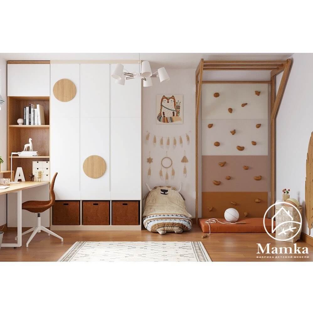 Дизайн-проект спальни для школьника-подростка 3