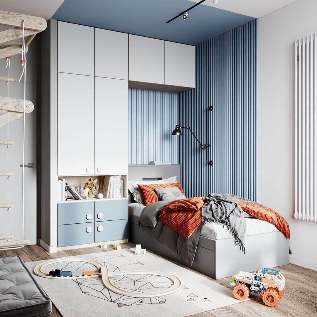 Дизайн-проекты детских спален 10