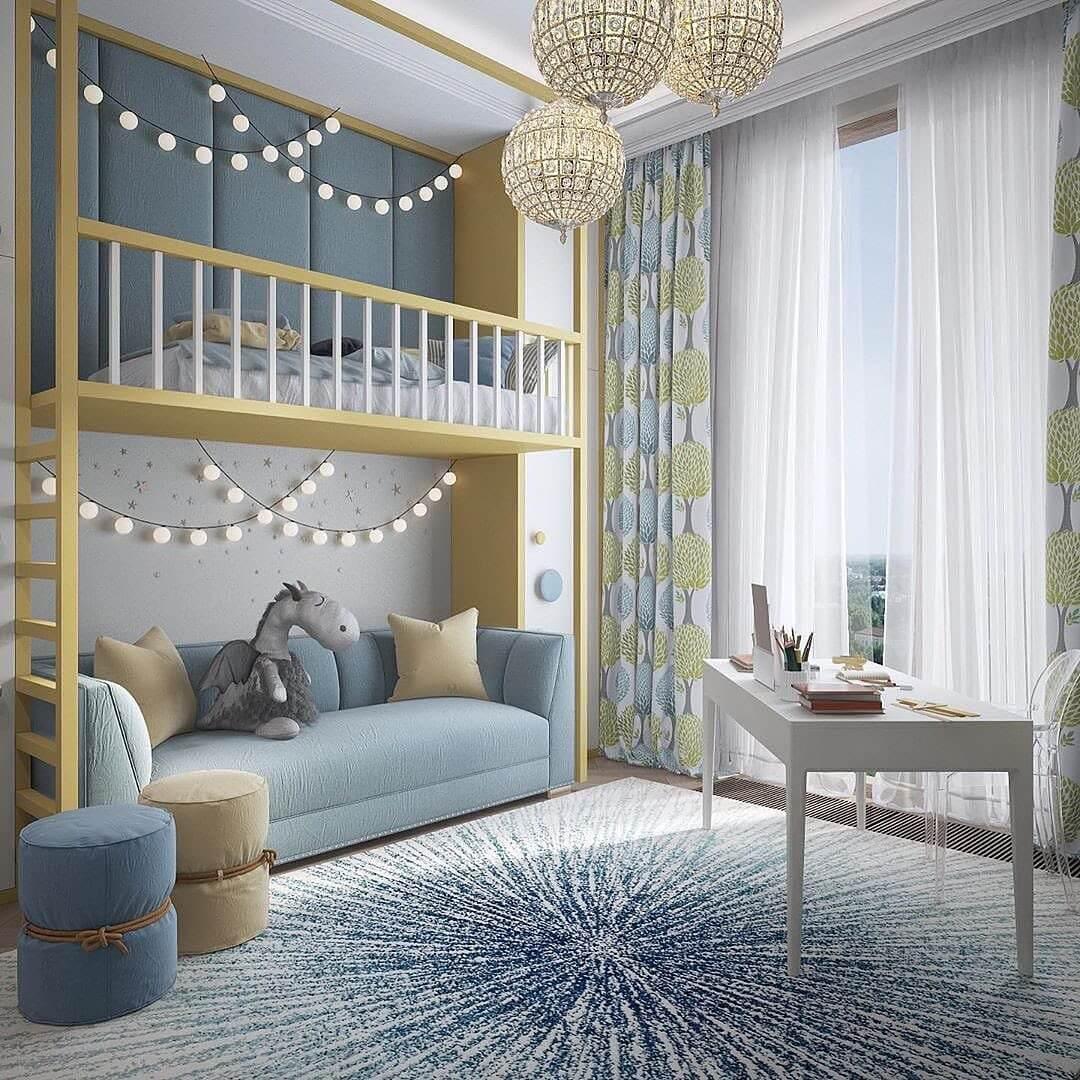 Дизайн-проекты детских спален 3
