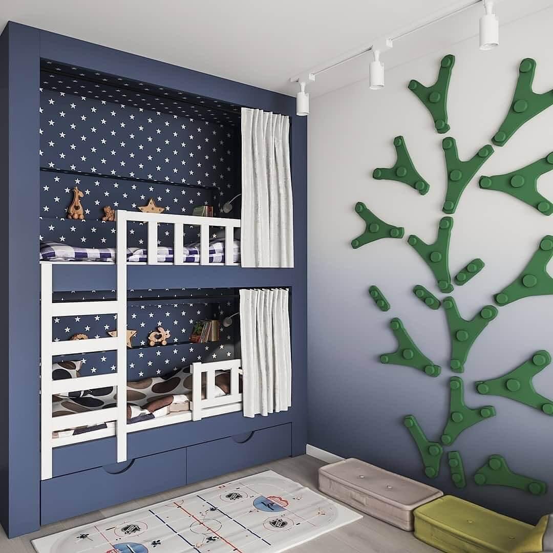Дизайн-проекты детских спален 4