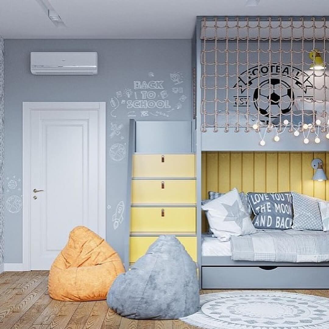 Дизайн-проекты детских спален 7