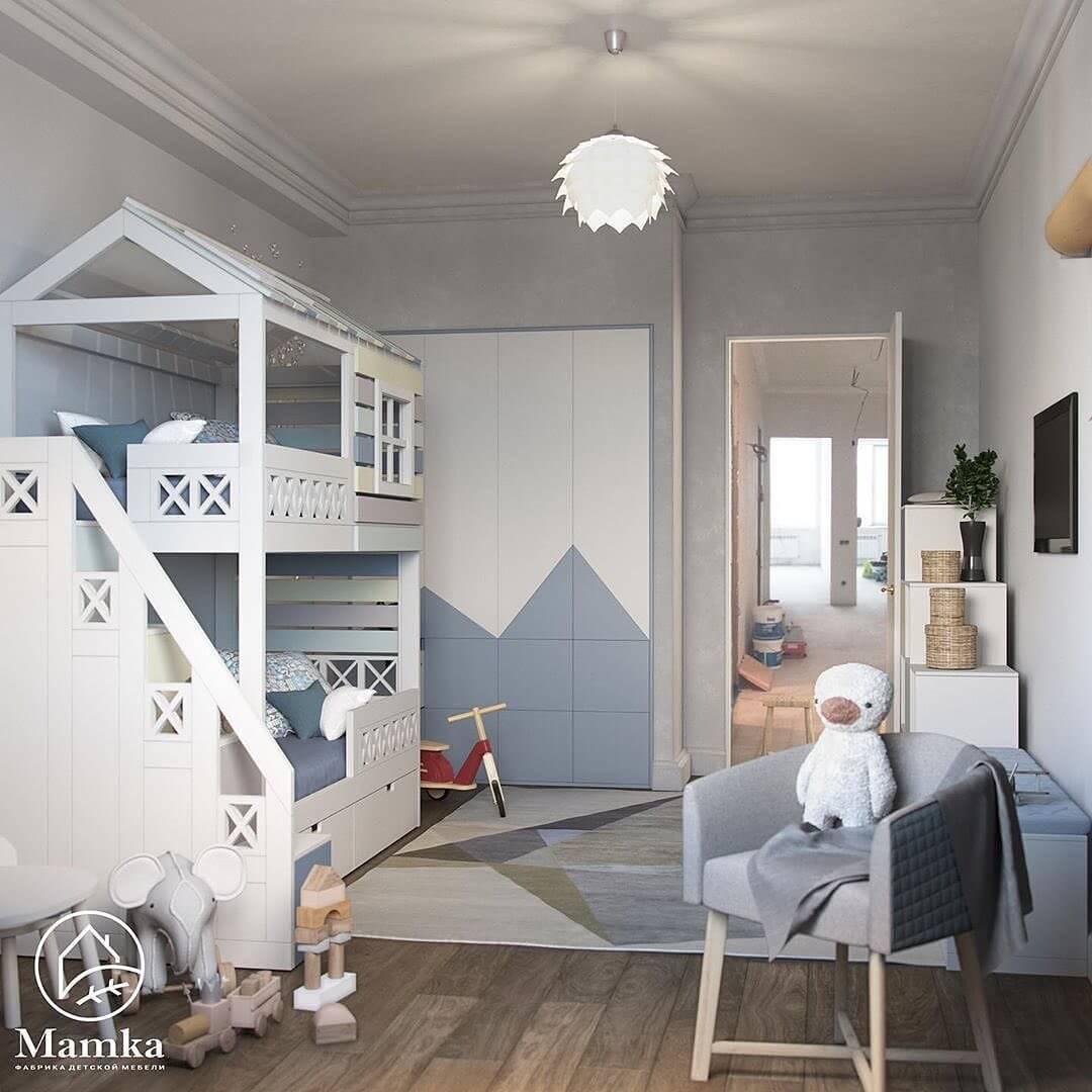 Дизайн-проекты детских спален 8