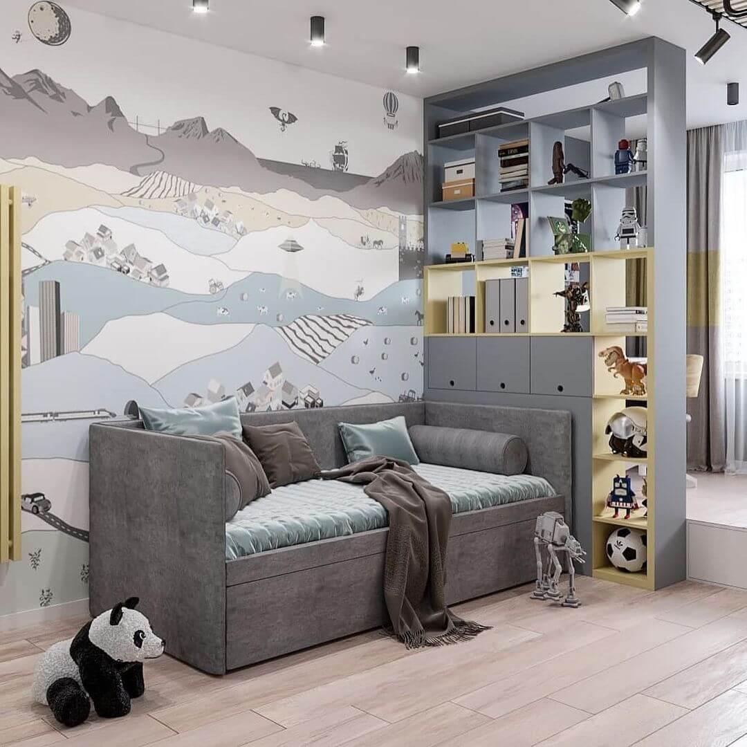 Дизайн-проекты детских спален 9