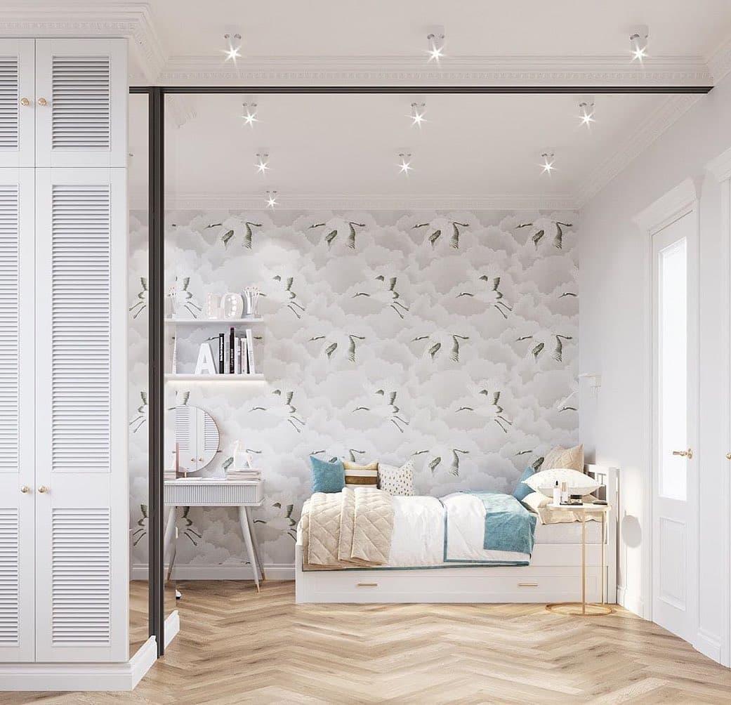 Дизайн спальни для двух девочек 3
