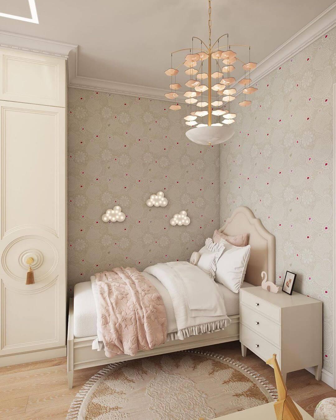 Дизайн спальни для маленькой девочки 1