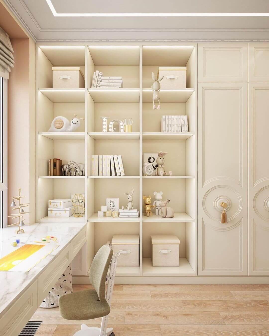 Дизайн спальни для маленькой девочки 4