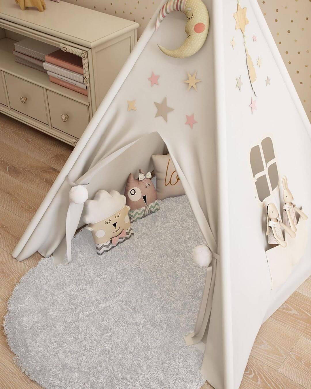 Дизайн спальни для маленькой девочки 9