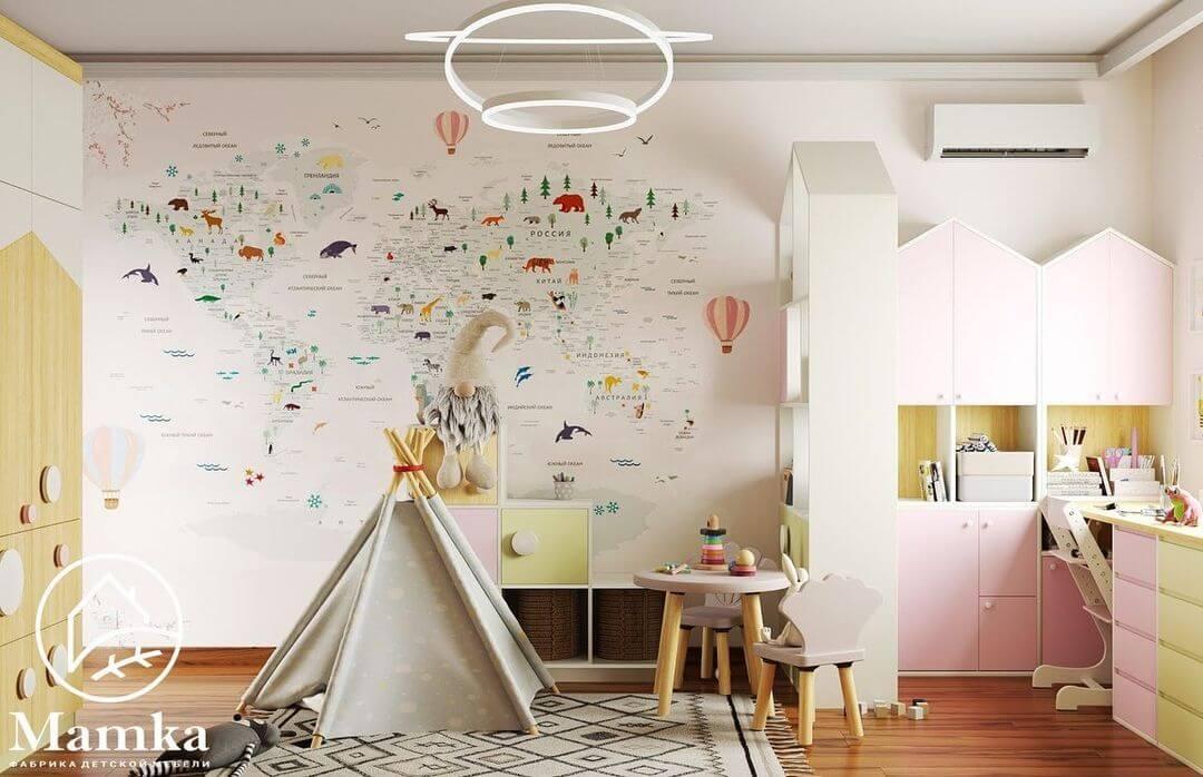 Дизайн спальни для разнополых детей 3