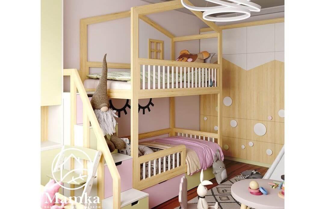 Дизайн спальни для разнополых детей 4