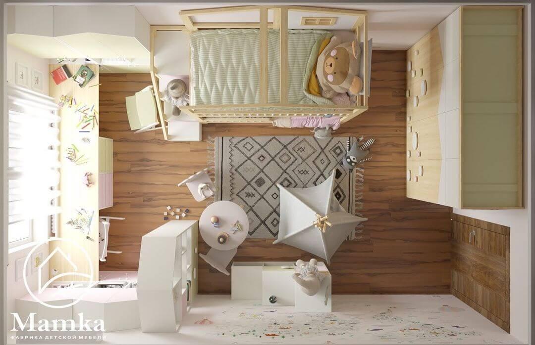 Дизайн спальни для разнополых детей 5
