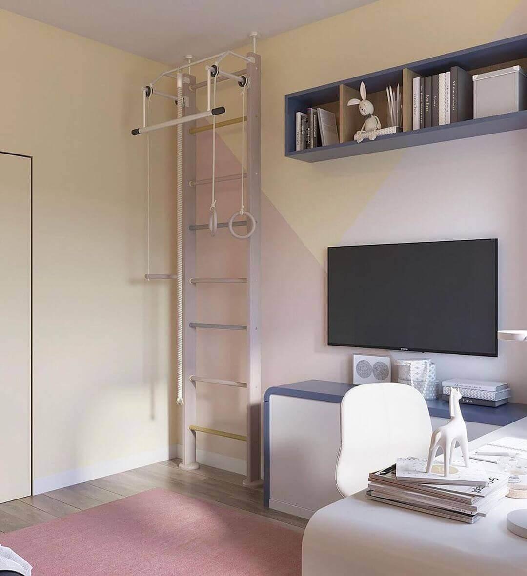 Дизайн спальни подростка в лаконичном стиле 3
