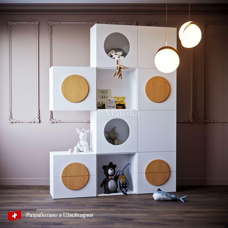 Дизайнерские стеллажи для детской комнаты 3