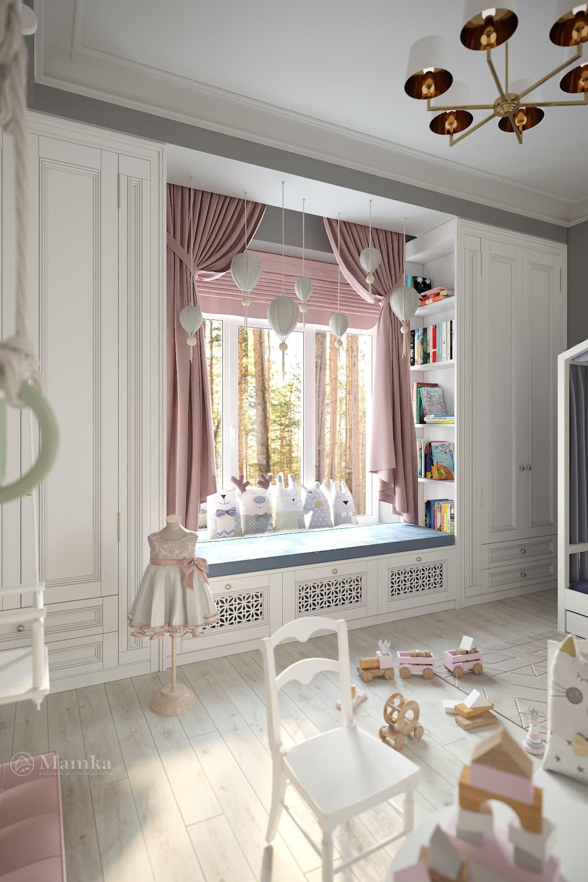 Дизайн детской комнаты фото 2-3