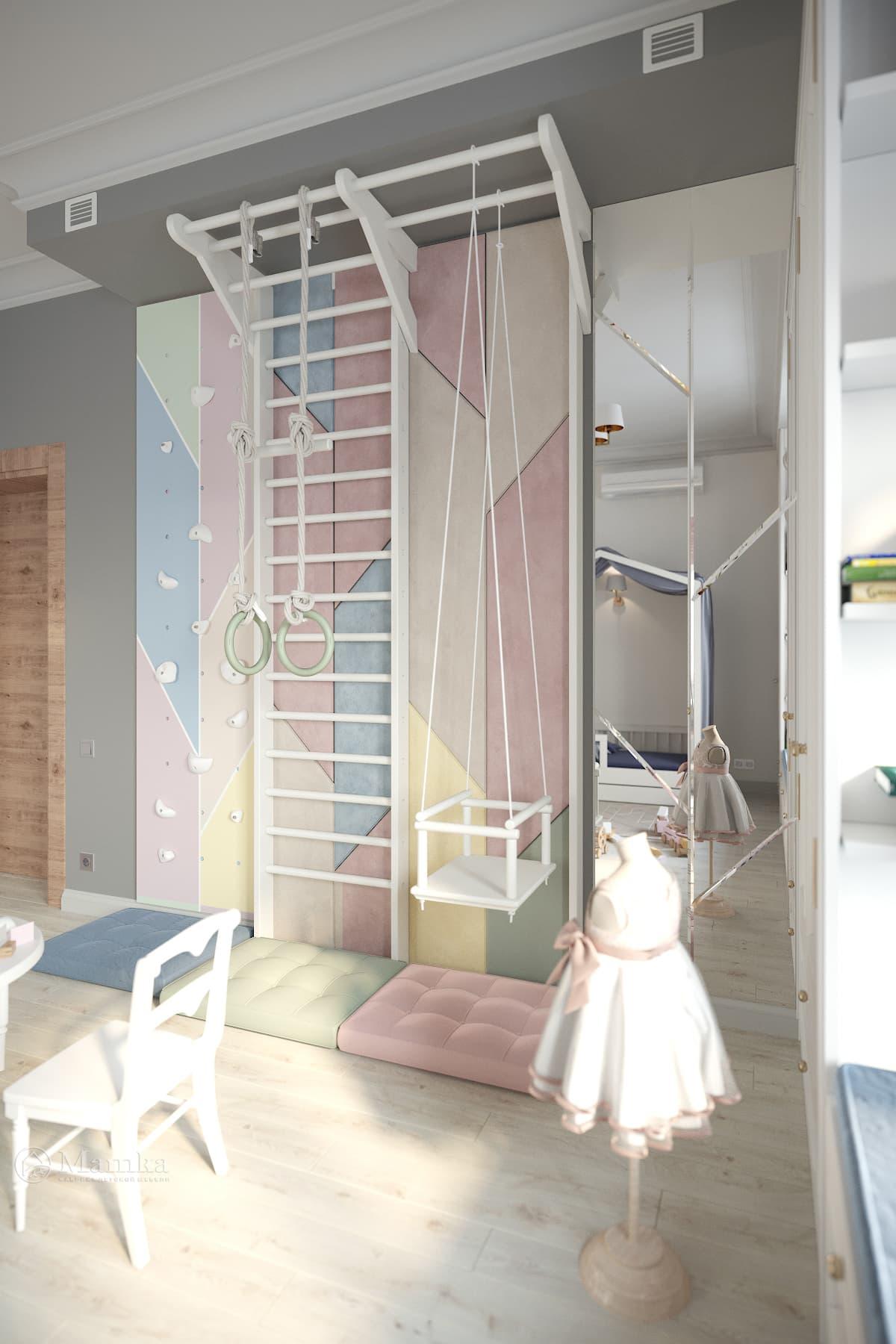 Дизайн детской для девочки фото 1-6