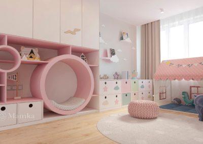Сказочная спальня для маленькой принцессы