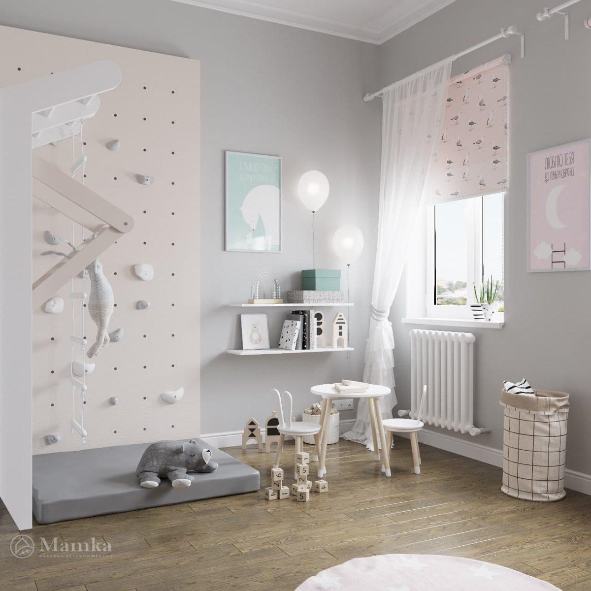 Дизайн детской для девочки фото 14-6