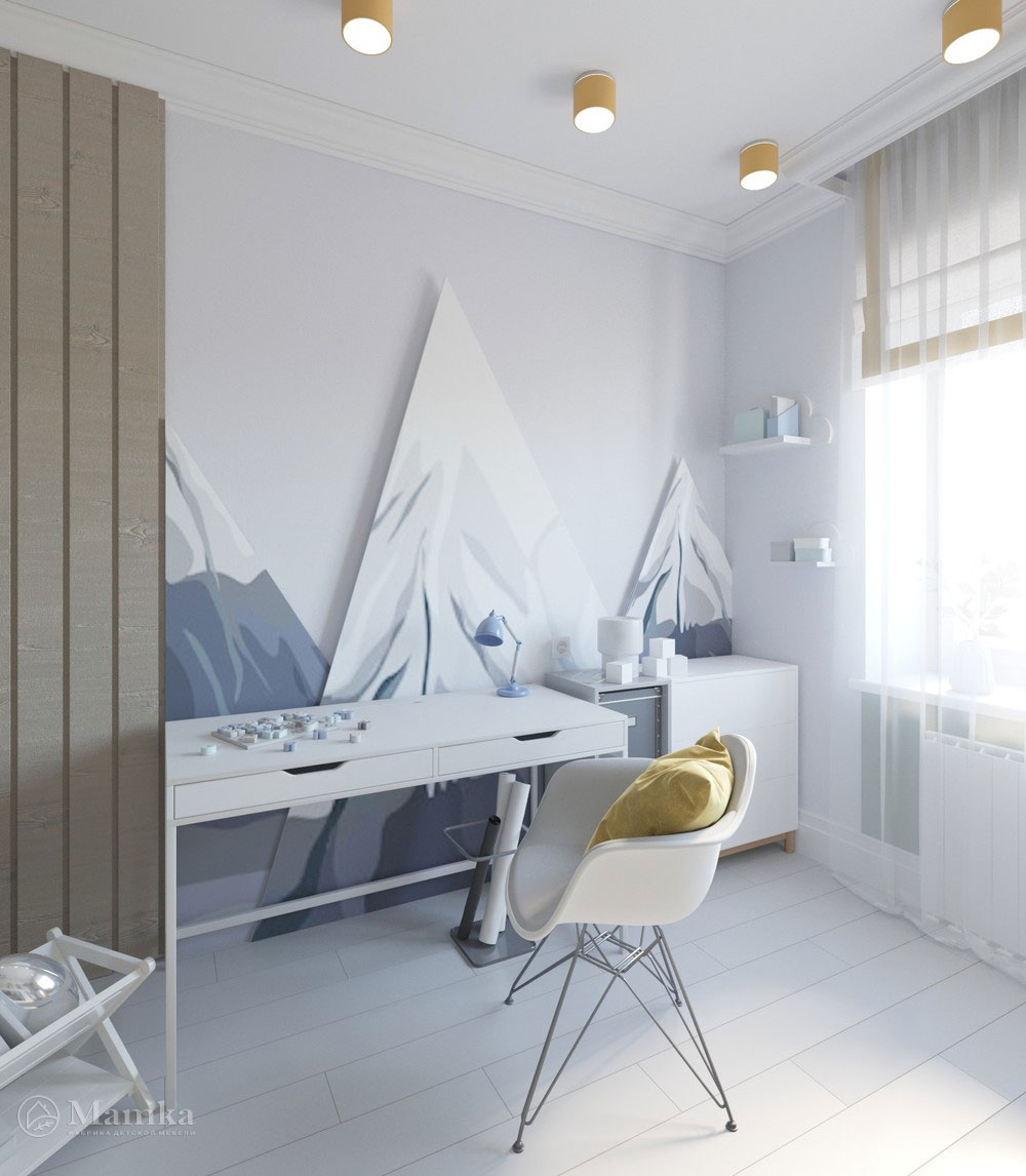 Яркий дизайн детской комнаты с анималистичными мотивами 3