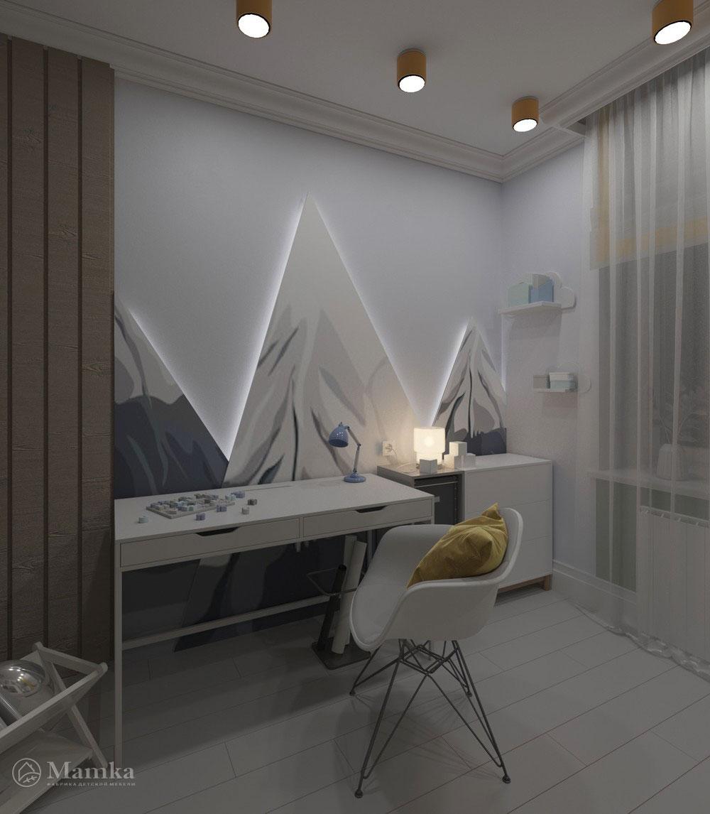 Яркий дизайн детской комнаты с анималистичными мотивами 4