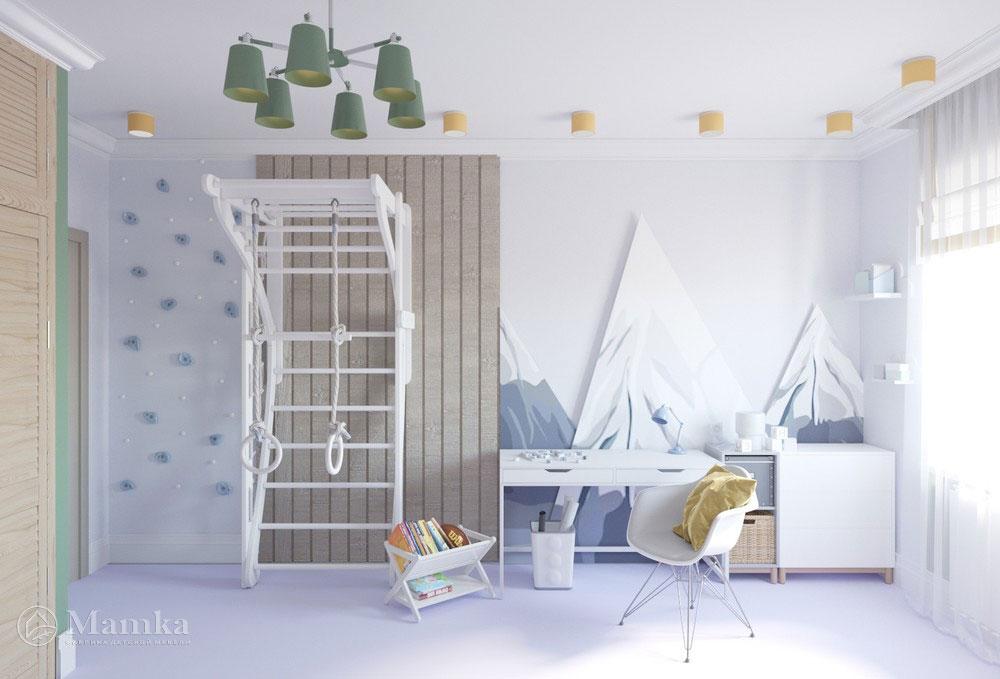 Яркий дизайн детской комнаты с анималистичными мотивами 6