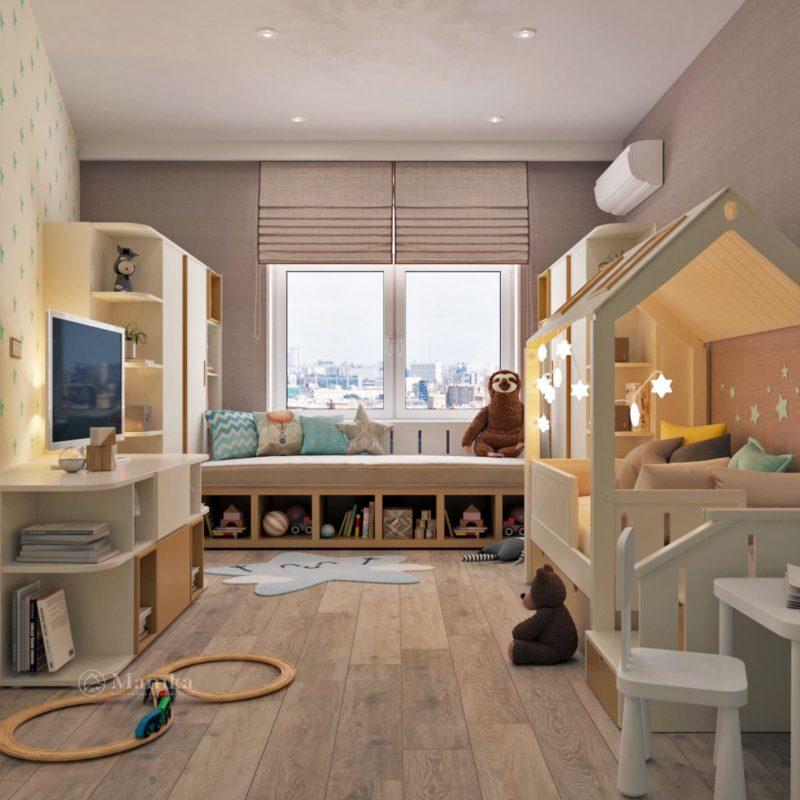 Дизайн детской комнаты 1-1