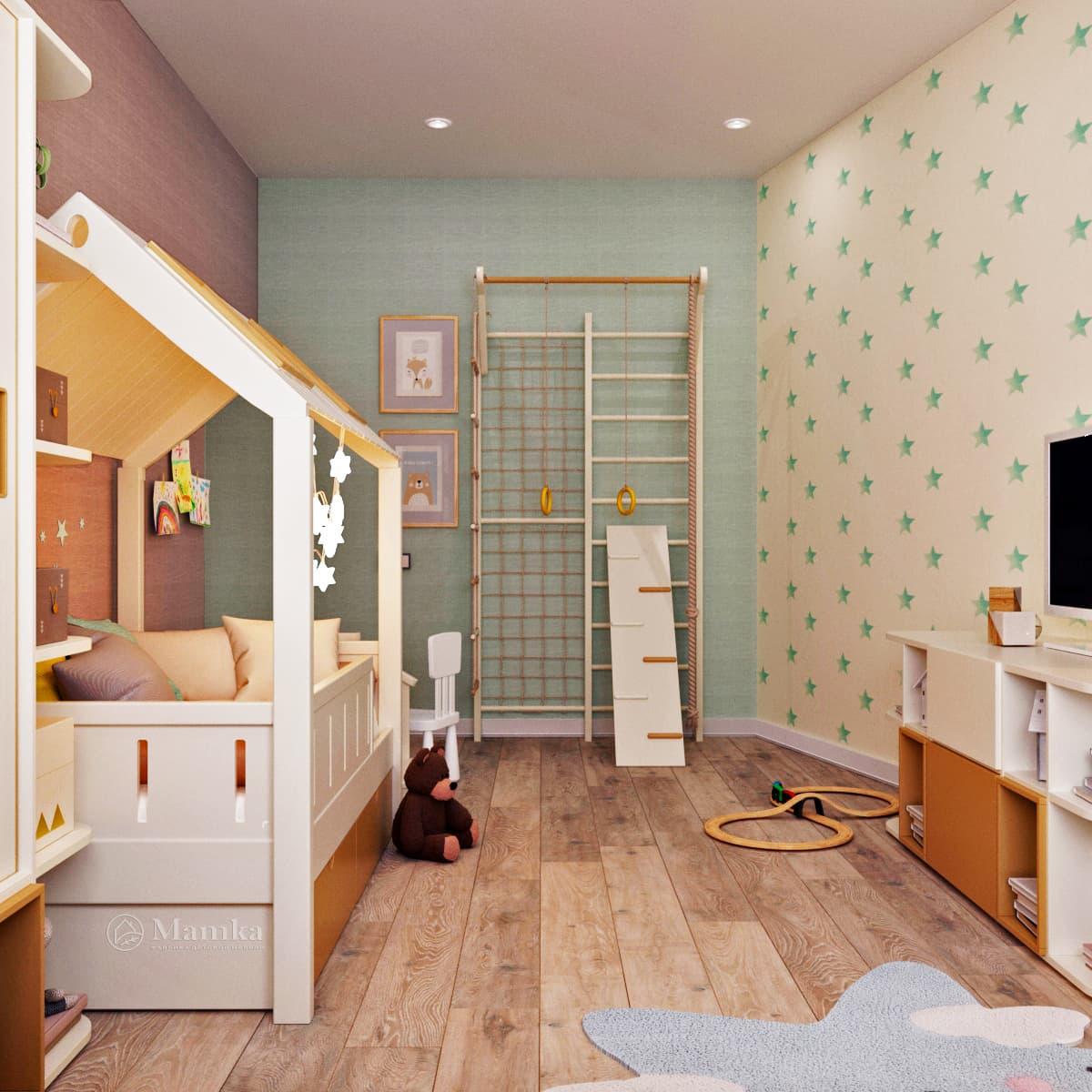 Дизайн детской комнаты 1-4