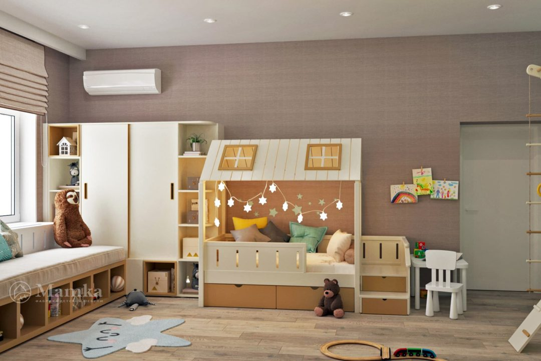 Дизайн детской комнаты 1-6