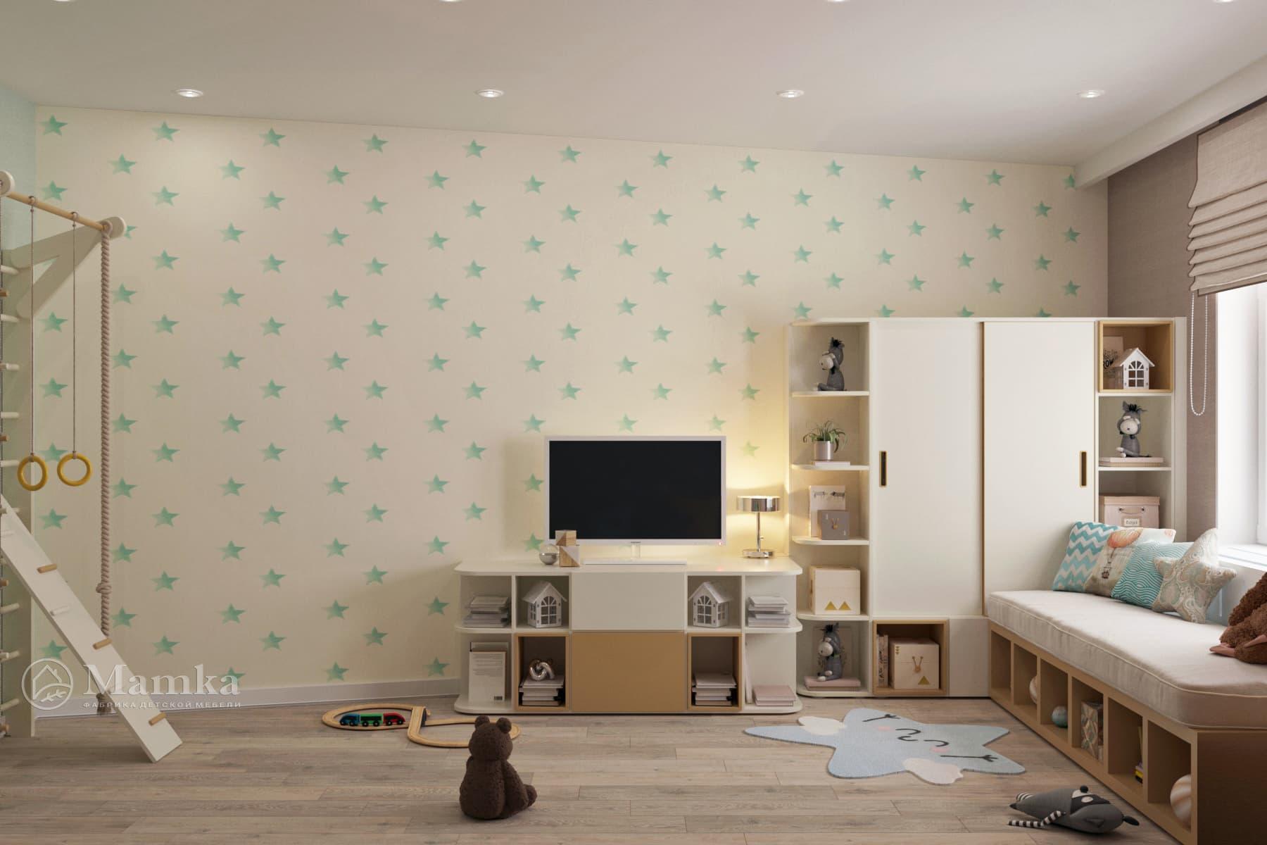 Дизайн детской комнаты 1-9