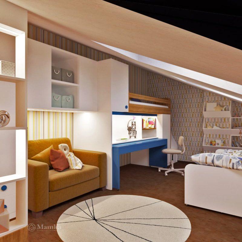 Дизайн детской комнаты фото 2-12