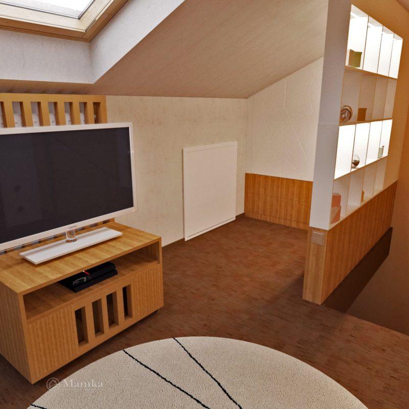 Дизайн детской комнаты фото 2-14