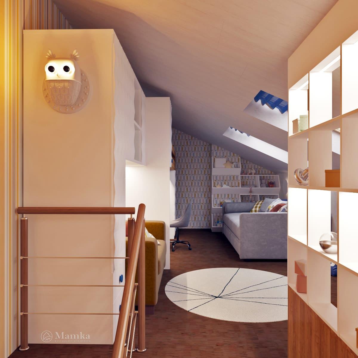 Дизайн детской комнаты фото 2-13