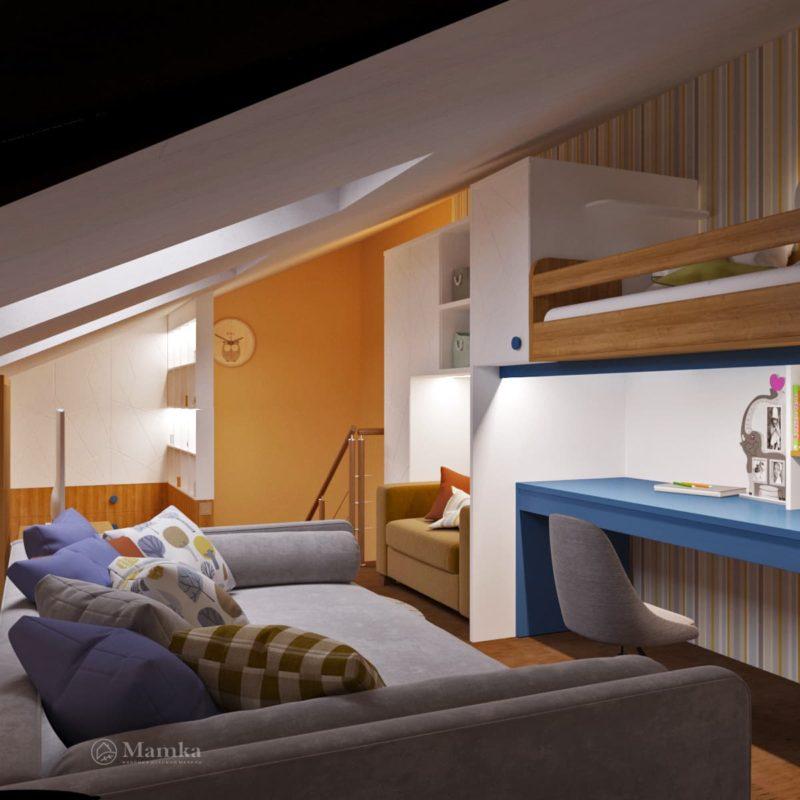 Дизайн детской комнаты фото 2-7