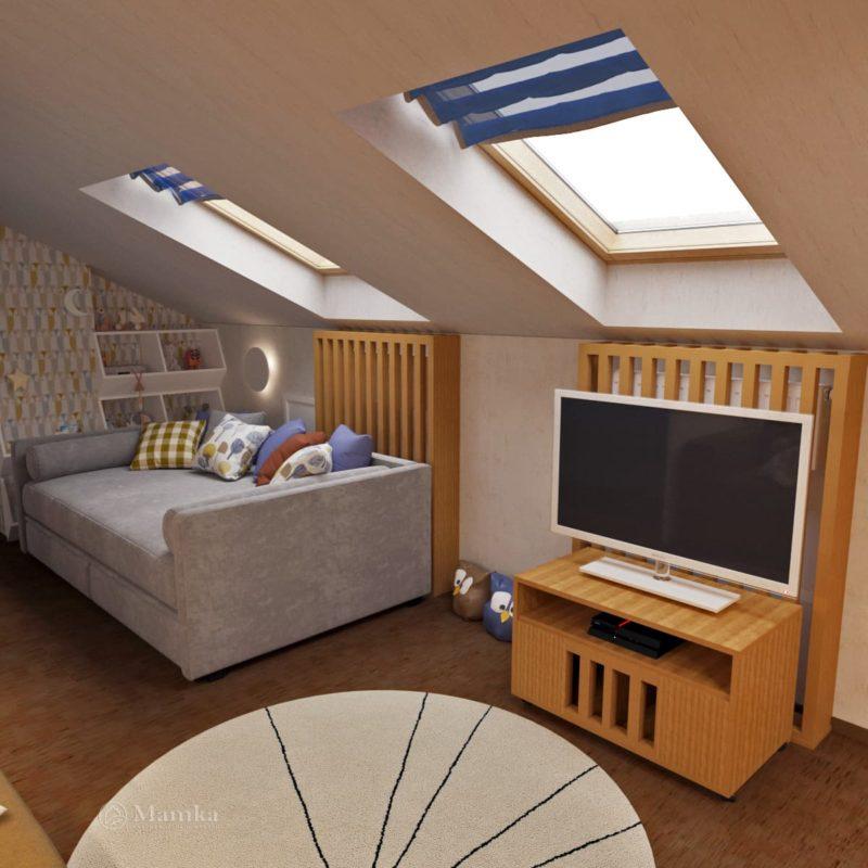 Дизайн детской комнаты фото 2-9