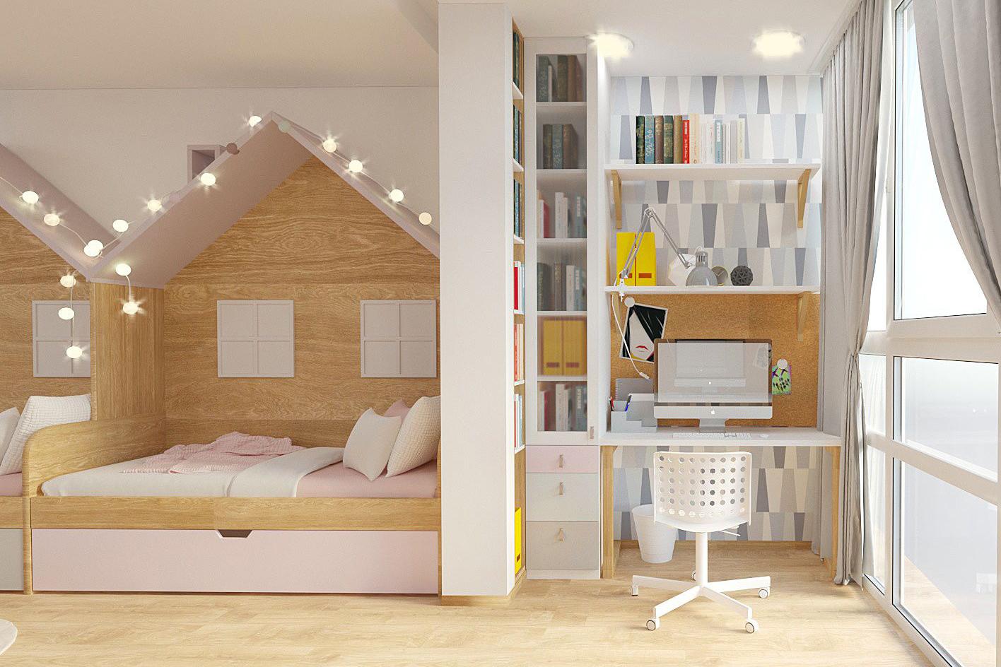 Дизайн детской комнаты фото 3-1