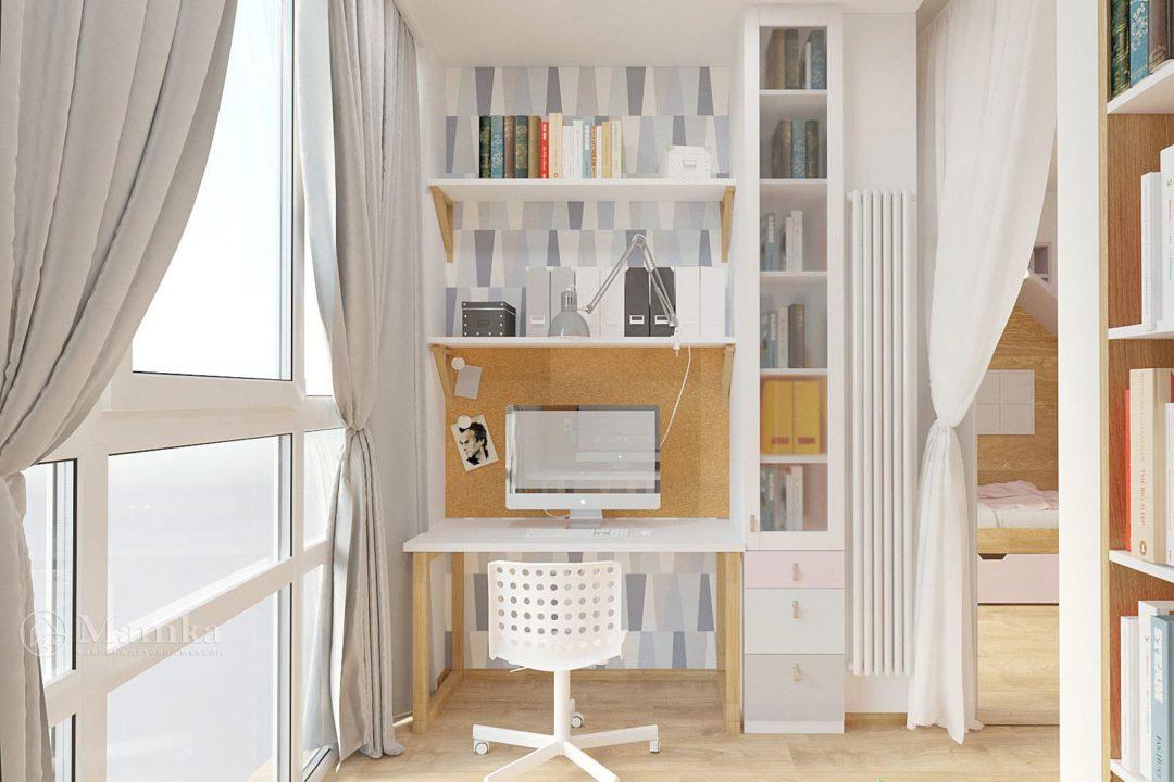 Дизайн детской комнаты фото 3-4