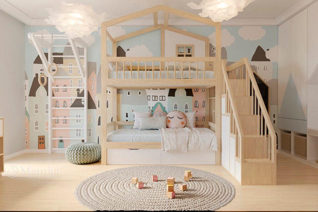 Дизайн детской комнаты фото 4-1