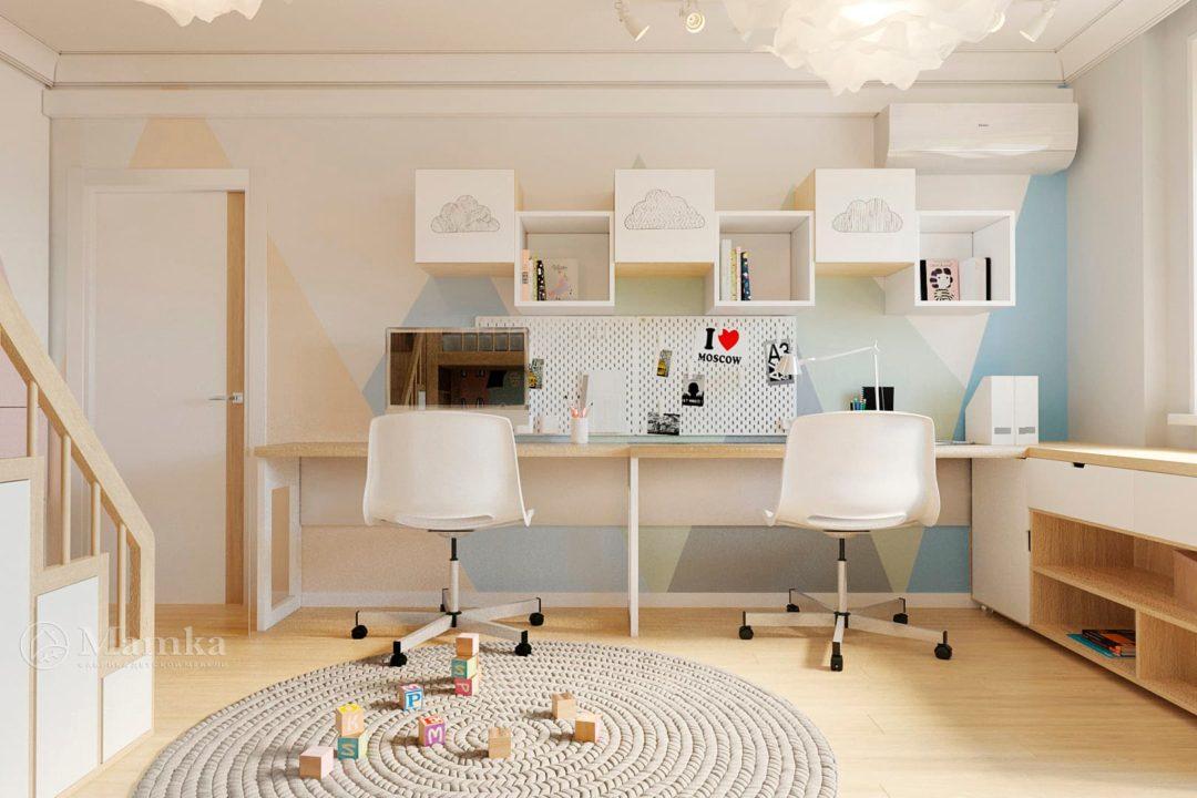 Дизайн детской комнаты фото 4-4