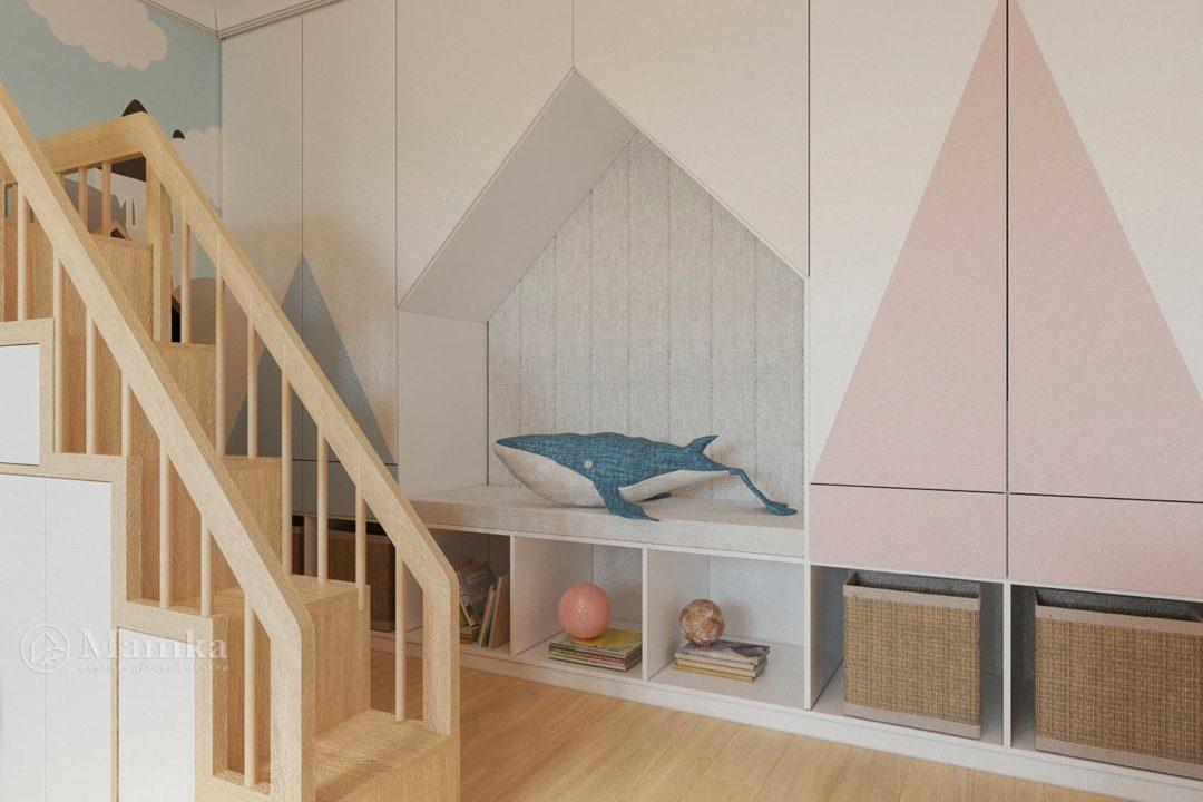 Дизайн детской комнаты фото 4-5