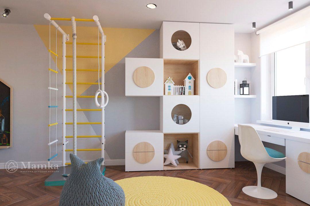 Дизайн детской комнаты фото 6-1