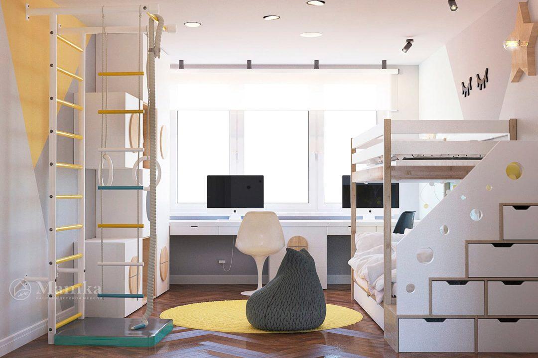 Дизайн детской комнаты фото 6-4