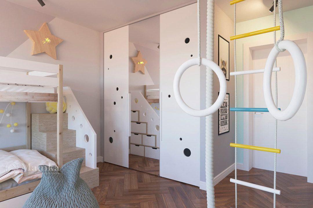Дизайн детской комнаты фото 6-5