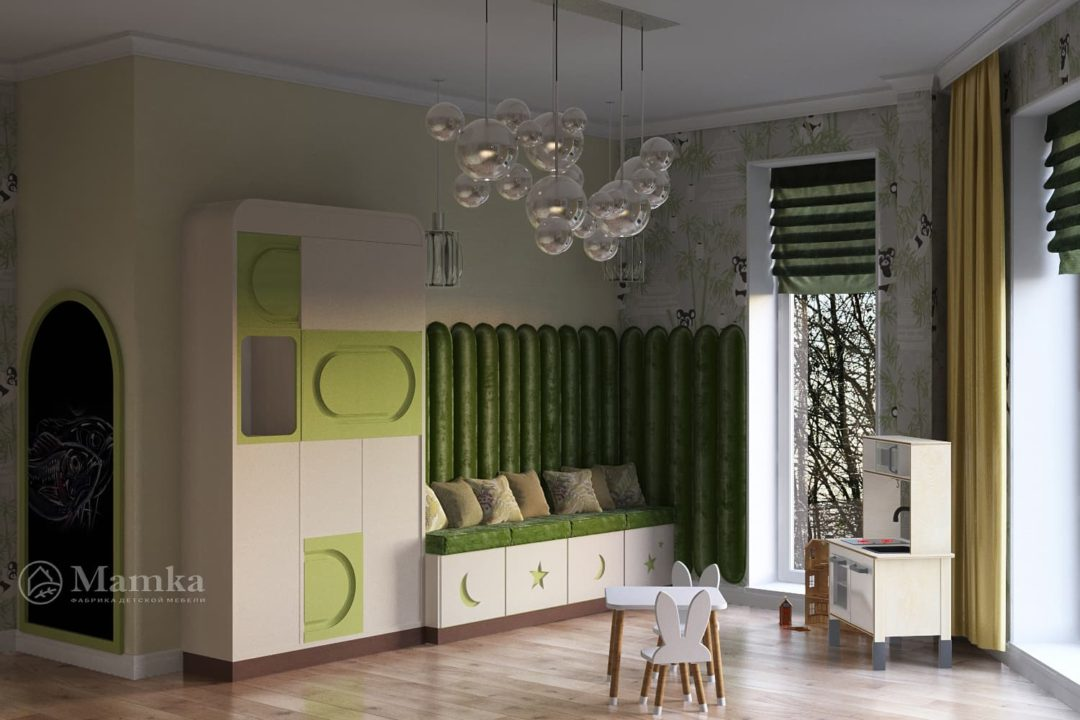 Дизайн детской комнаты фото 7-1