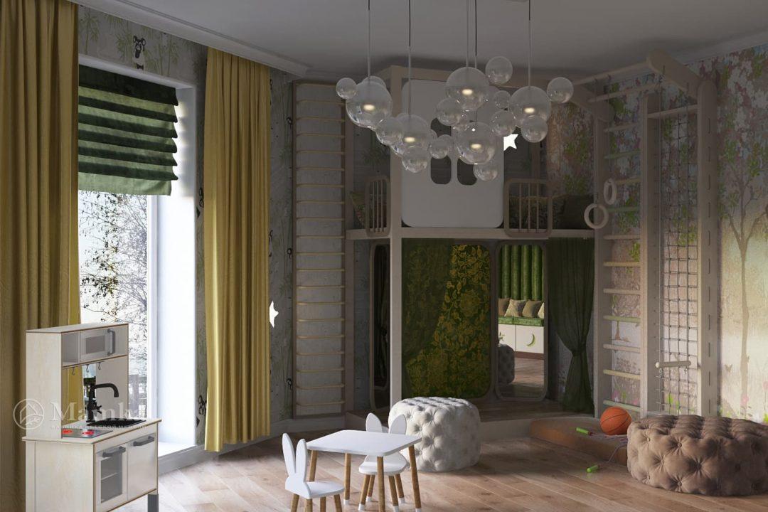 Дизайн детской комнаты фото 7-3