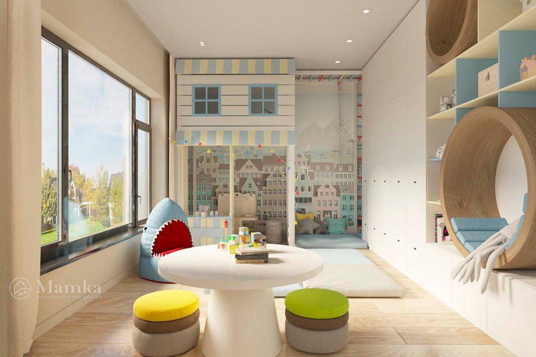 Дизайн детской комнаты фото 9-1