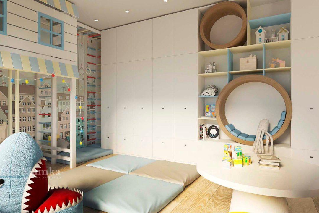 Дизайн детской комнаты фото 9-2