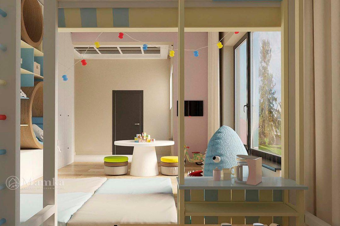 Дизайн детской комнаты фото 9-3