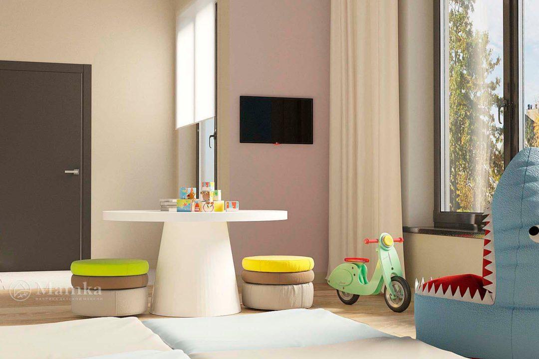 Дизайн детской комнаты фото 9-4