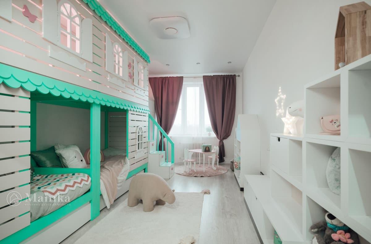 Дизайн детской комнаты живое фото 13
