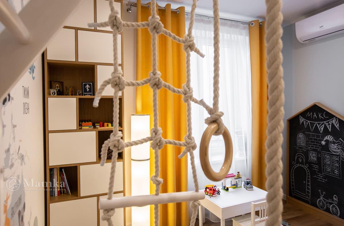 Дизайн детской комнаты живое фото 2