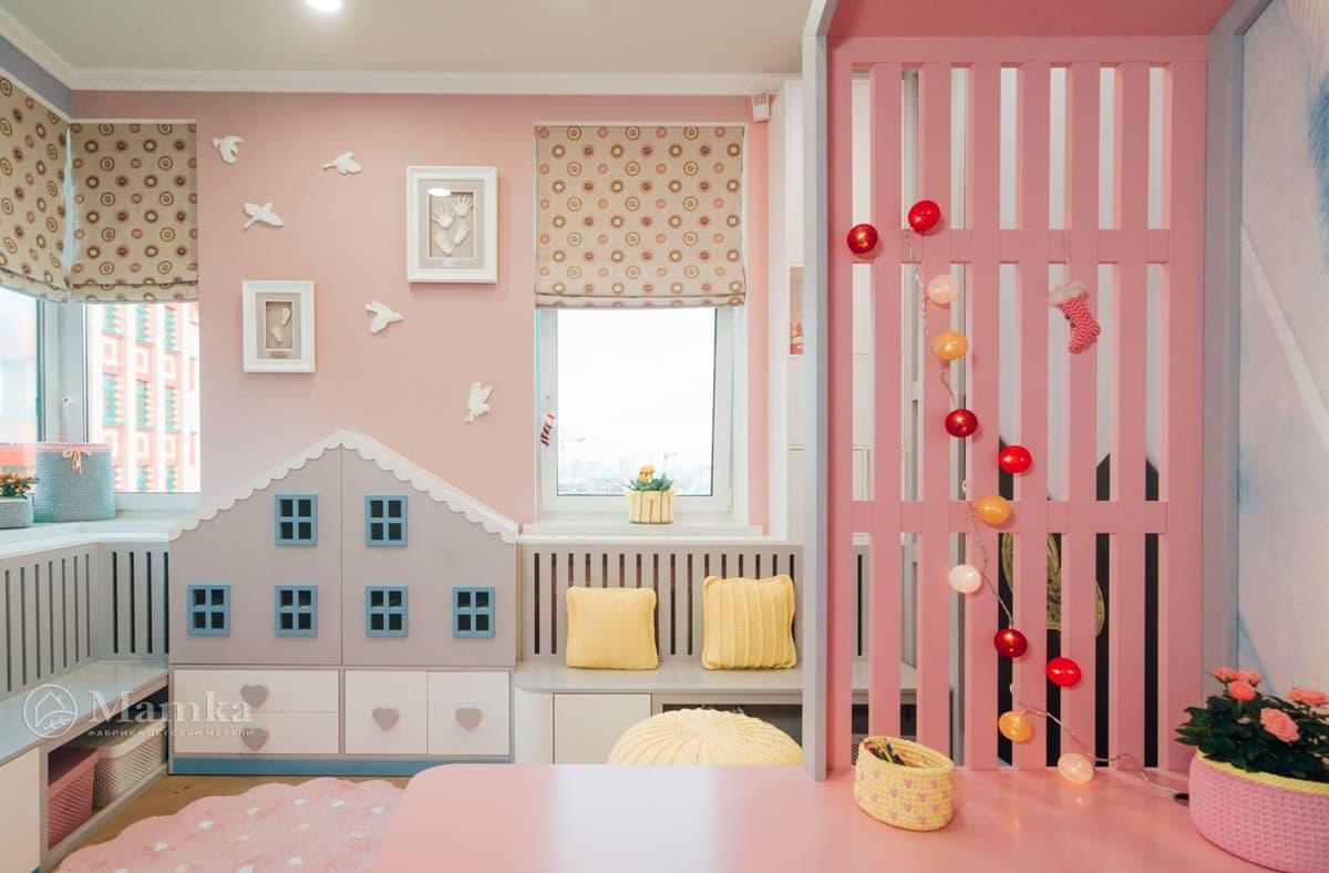 Дизайн детской комнаты живое фото 1